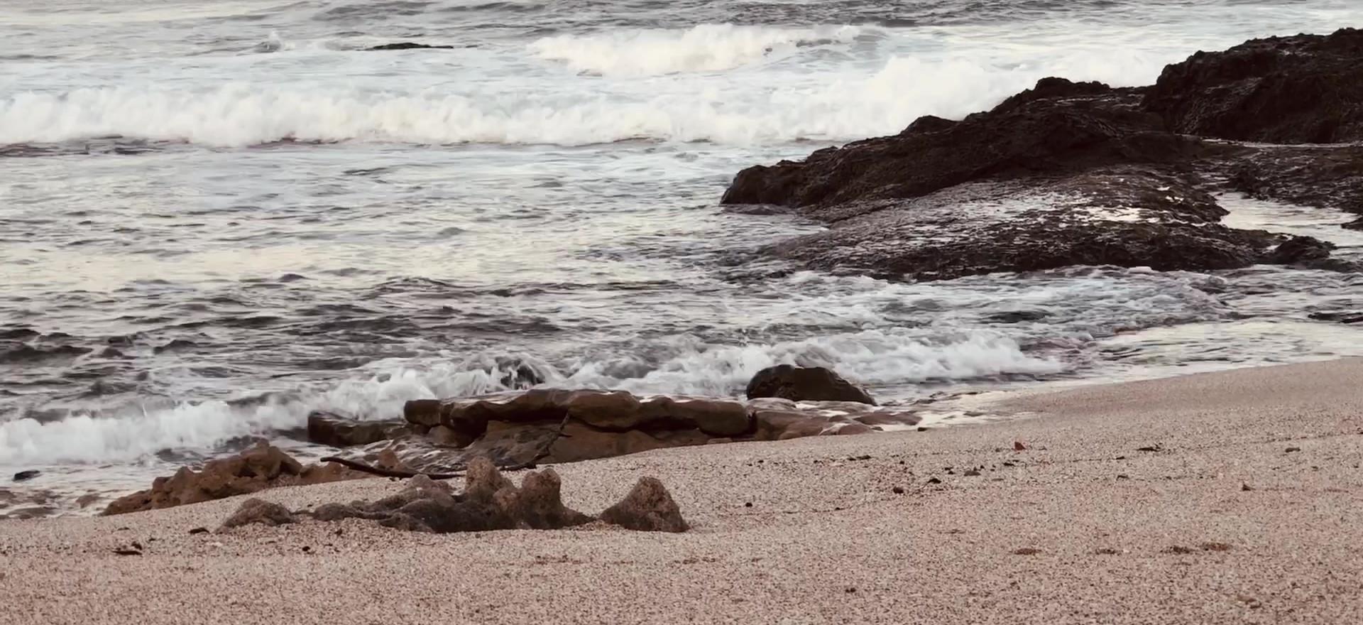 Zen Space, Peaceful Beach Sunset