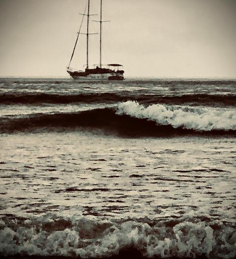 Dramatic Shop at Sea