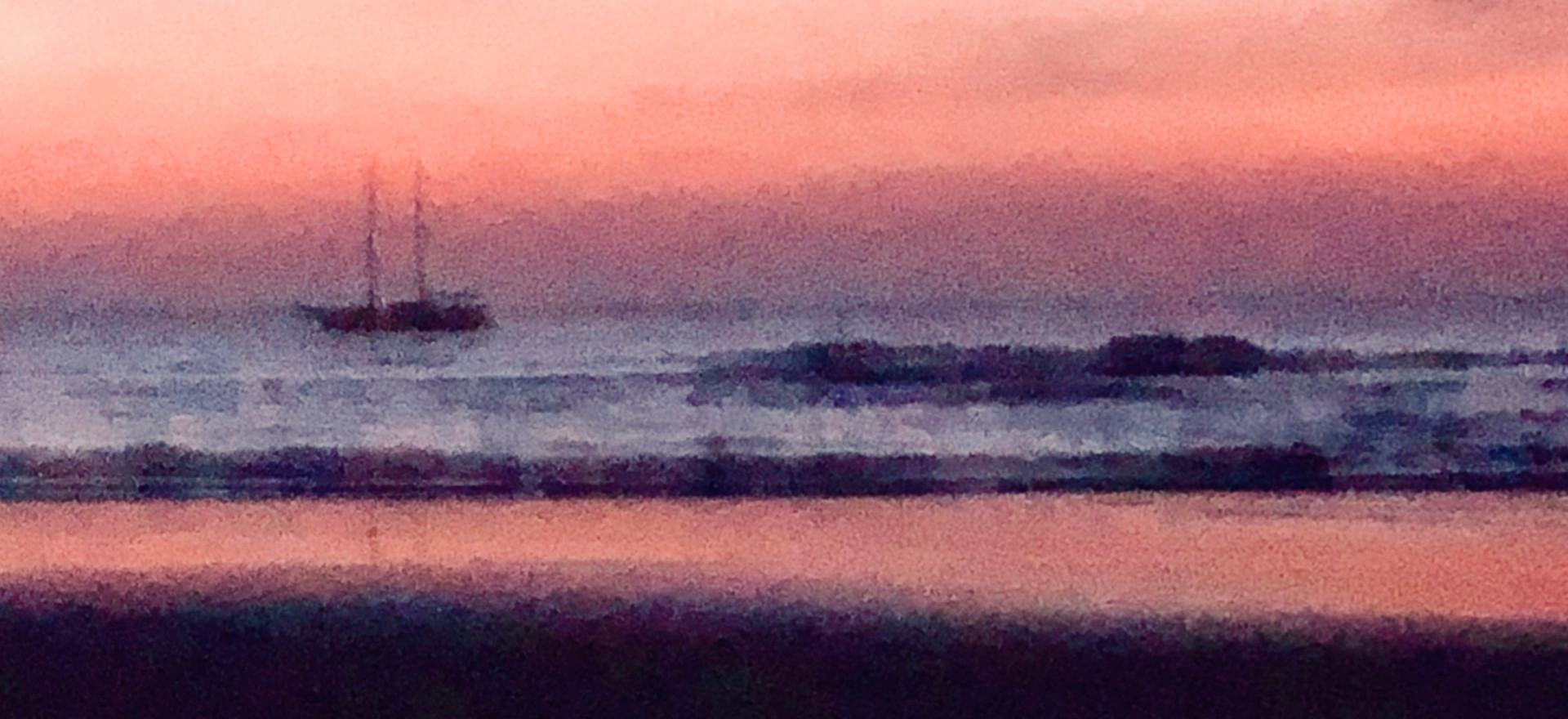 Pastel TropiclDream Sunset