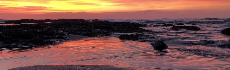 Zen Space, Sunset Golden Reflections