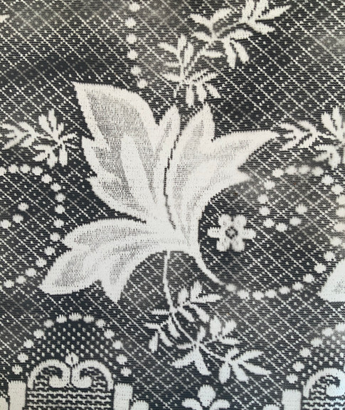 Costs Rica Lace, Black and White