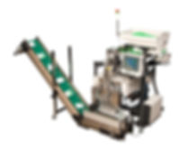US 9000 Production Polybagger - Vibratory Bowl Net Weigh Counting Scale