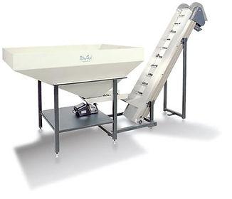 UF 3000 Polybagger - Hopper/Incline Conveyor