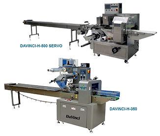 DaVinci Horizontal Form Fill and Seal Machine