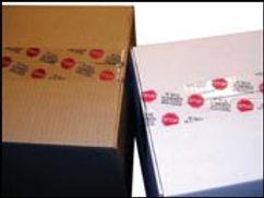 Custom Printed Tamper Evident Tapes