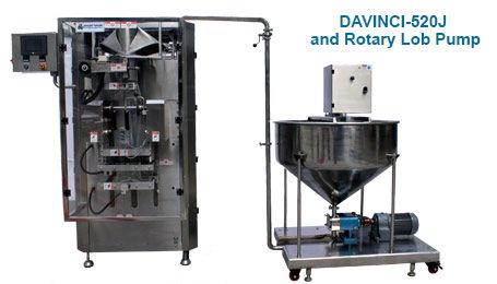 DaVinci 520J Form Fill and Seal Machine