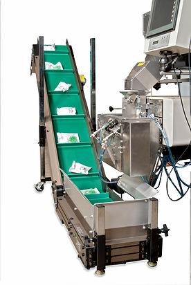 UF 2000 Polybagger Incline Conveyor