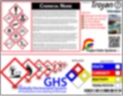On-Demand Label Printing - GHS Labels