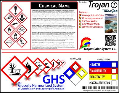 On-Demand Label Printing - GHS Labels