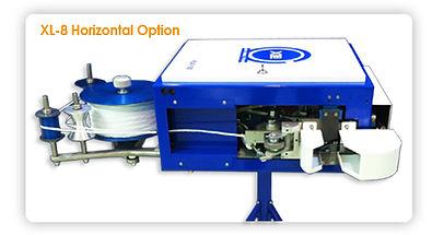 XL-8 Twist Tie Machine - Horizontal Option