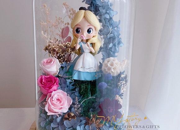 PRESERVED FLOWER- Alice