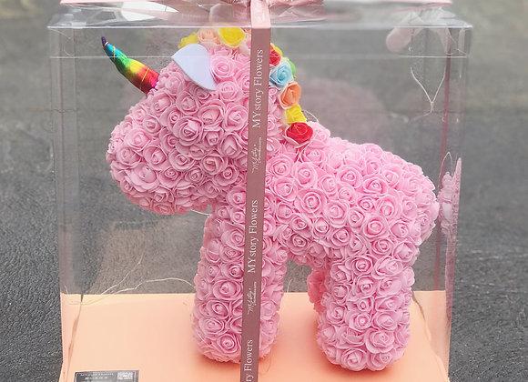 Synthetic Unicorn Baby Pink