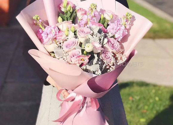 Pastel Purple Bouquet