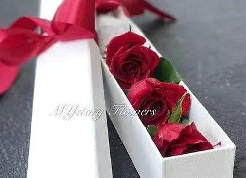 Rose Only - 3 stem Rose Box