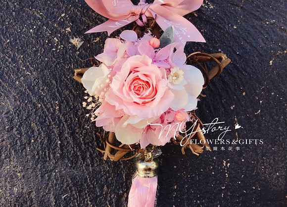 Car Ornament - Preserved Flowers