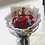 Thumbnail: Everlasting Red Roses Bouquet(&LED light)