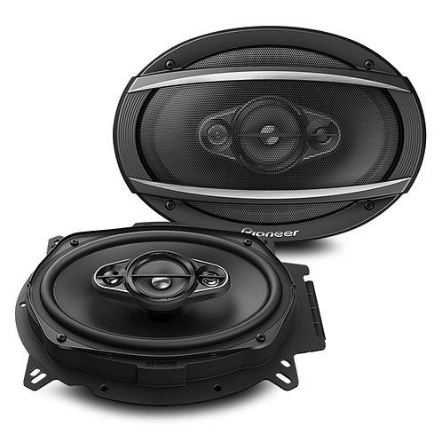 "Pioneer TS-A6960F 450W 6x9"" 4-Way Coaxial Speaker System"