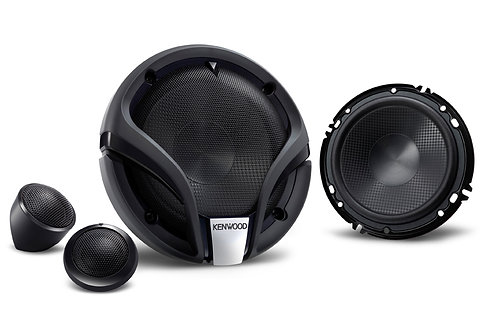 KENWOOD KFC-M604P 160mm 3-way Component Speaker