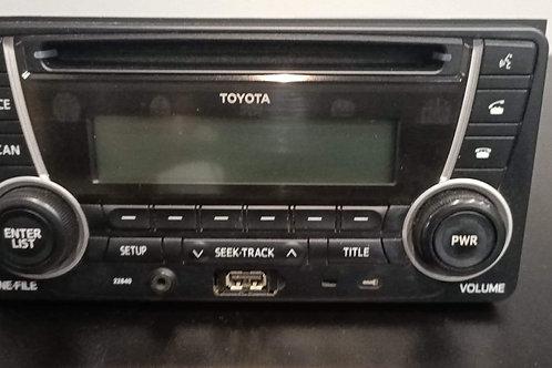 Toyota Radio/CD/USB/Bluetooth