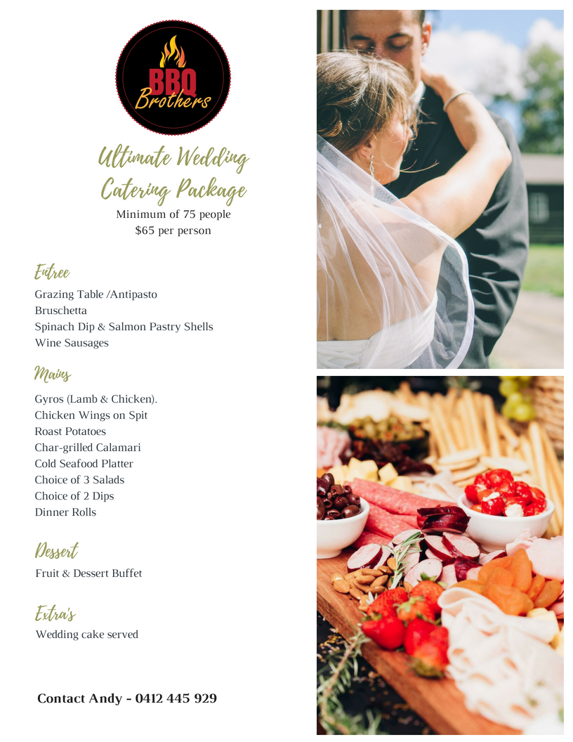 Wedding BBQ Catering Melbourne