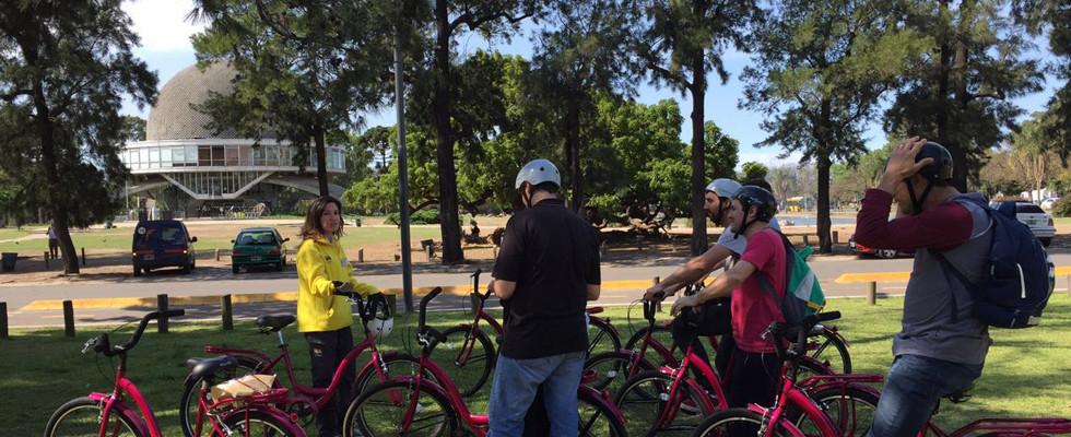 Tour en bicicleta por los lagos de palermo