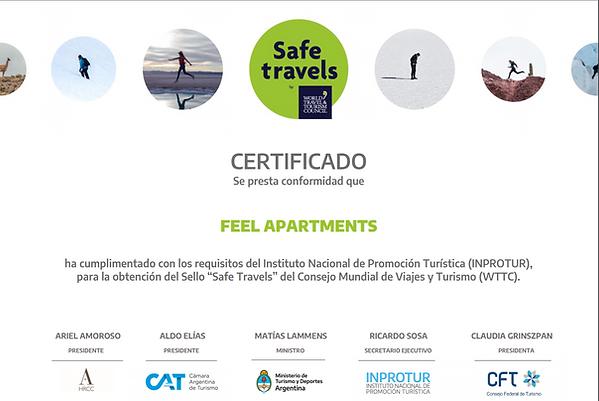 Certificado SafeTravels-FeelBuenosAiresA
