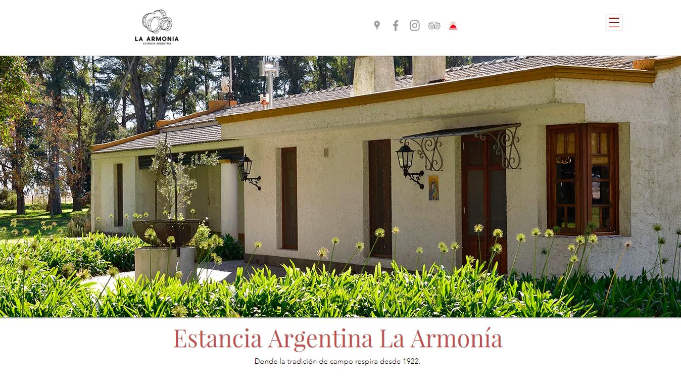 Estancia Argentina La Armonia