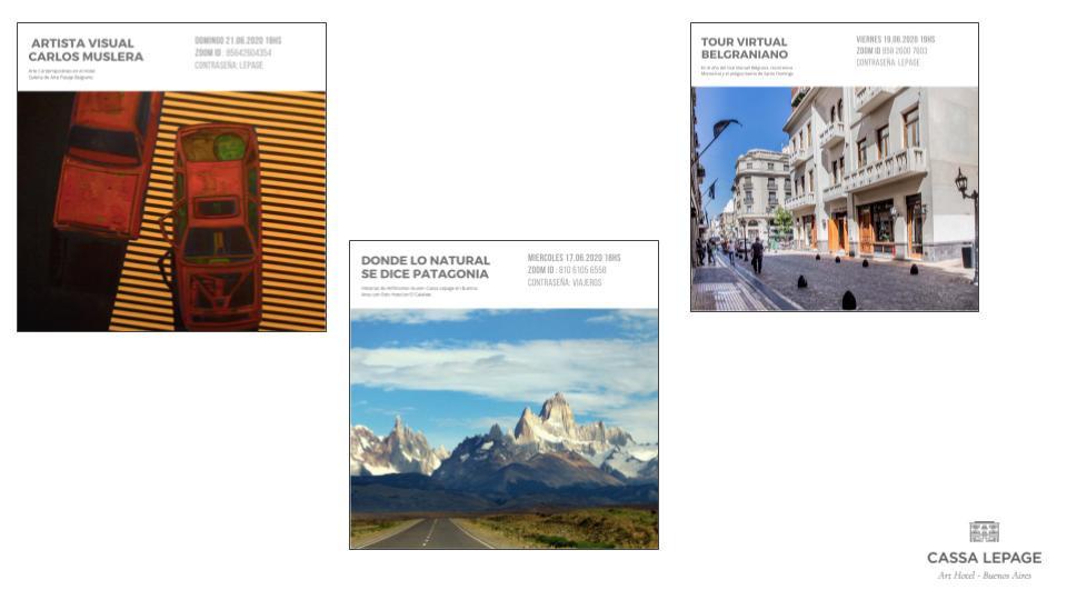 Contenidos digitales semanales de Cassa Lepage