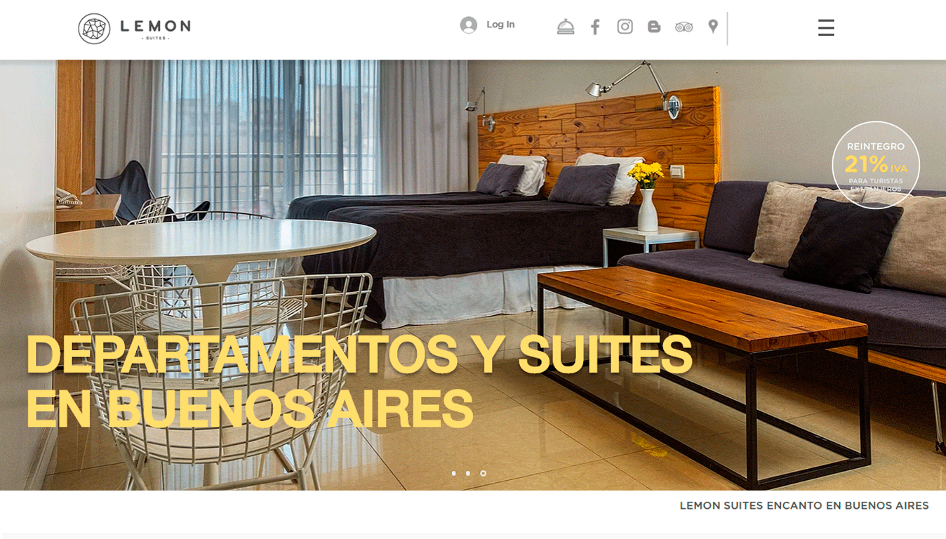 Lemon Suites San Telmo