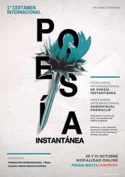 Certamen de Poesia Poster