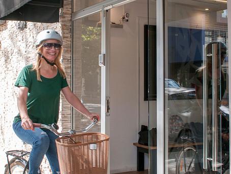 Pedaleando, recorré la ciudad en bici