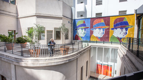Cassa Lepage Terrace and Mural