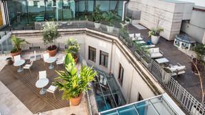 Terrace at Cassa Lepage
