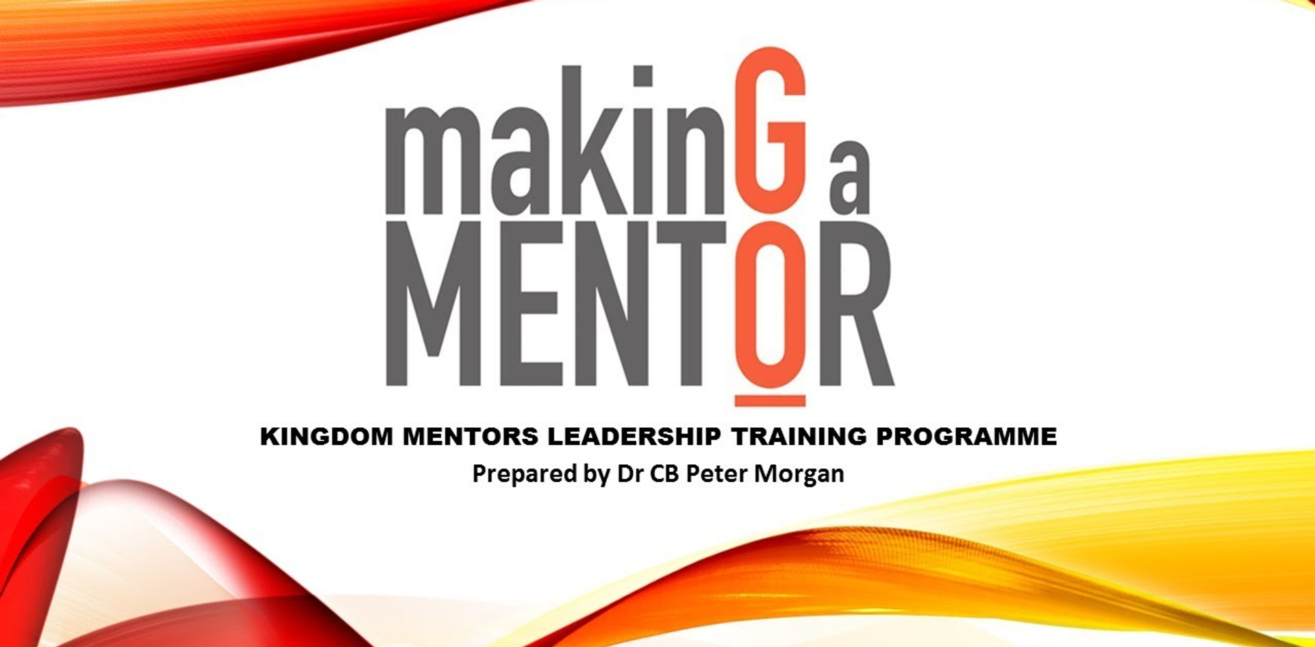 Making a Mentor
