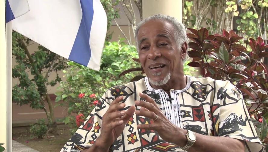 Dr Morgan Interviewed by Surinam TV