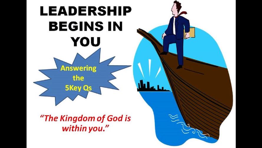 Leadership Begins In You