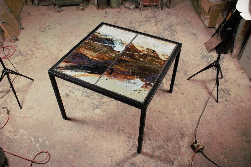 Custom Tile Table - By John Shedd