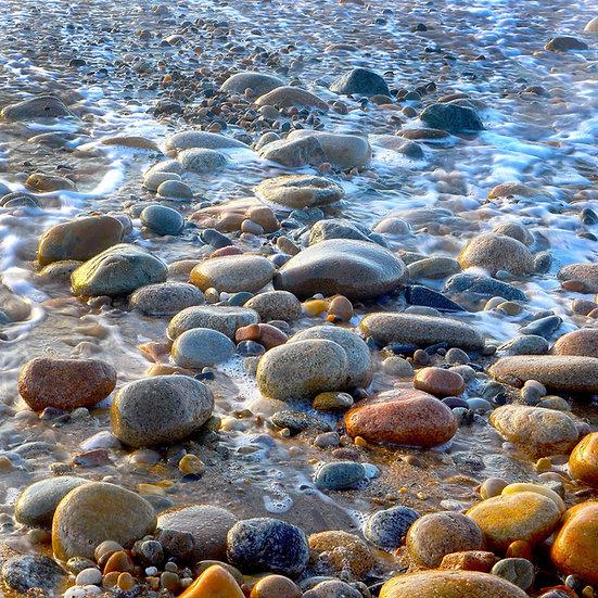 21-BEACH PEBBLES