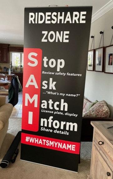 Stand-Alone SAMI Banner (3'x 8')