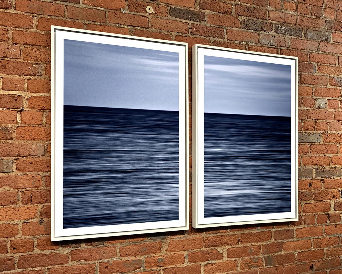 White Wood Float Frames