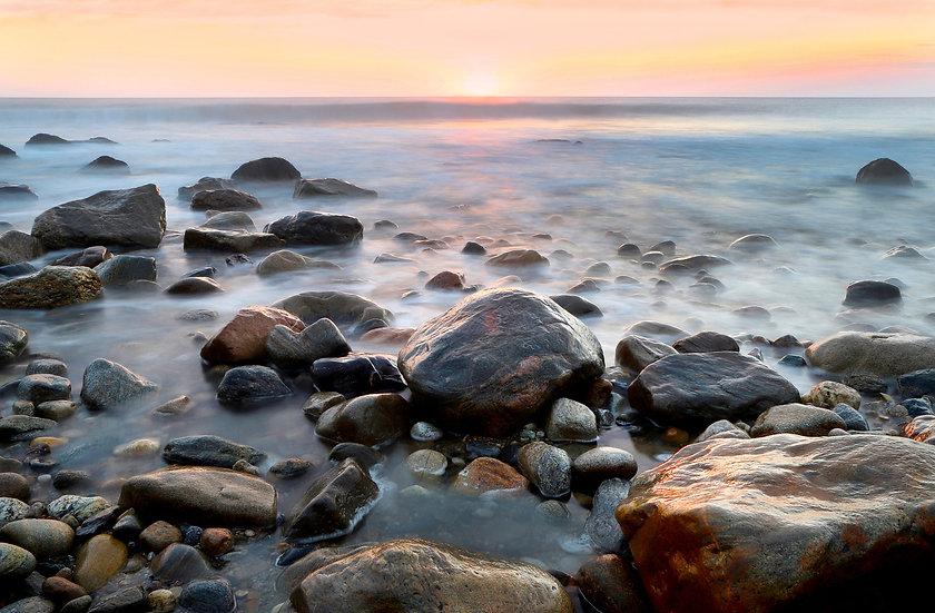 Sunrise Among Rocks