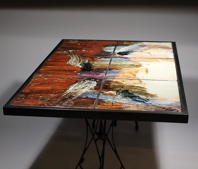 Custom Tile Table - By John Shedd