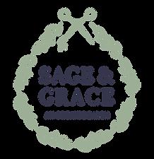 Sage & Grace Organic Salon Logo