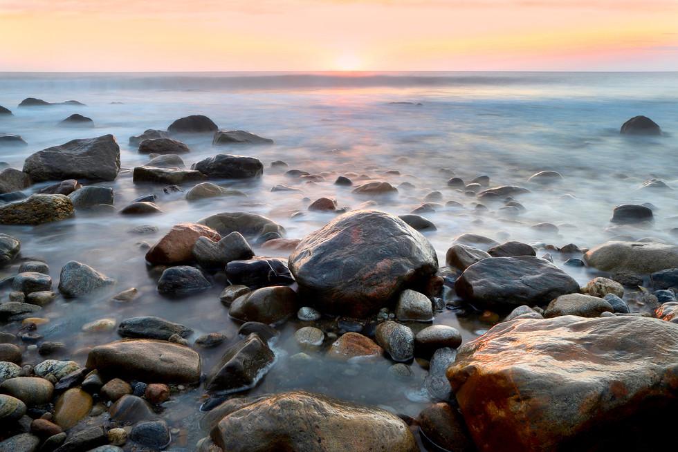 3 - Sunrise Among Rocks