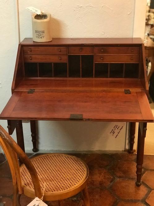Sheraton Slant Lid Desk Whiskey Barrel Antiques