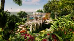 tropical house concept
