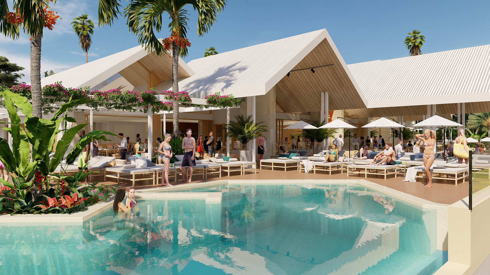 beach bar & resort concept