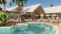 beach bar & resort concept