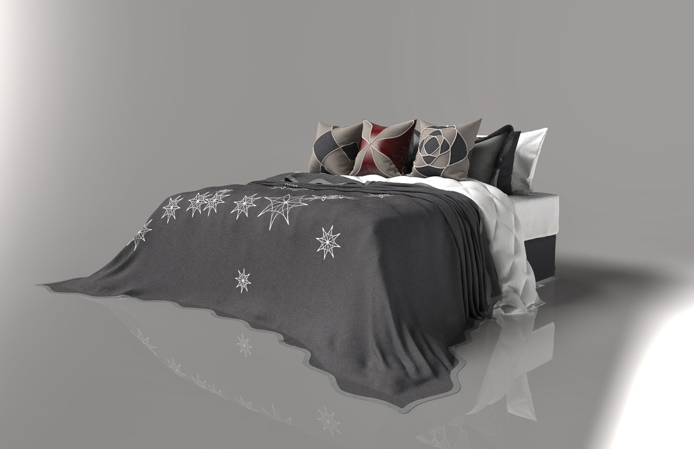 king bed concept