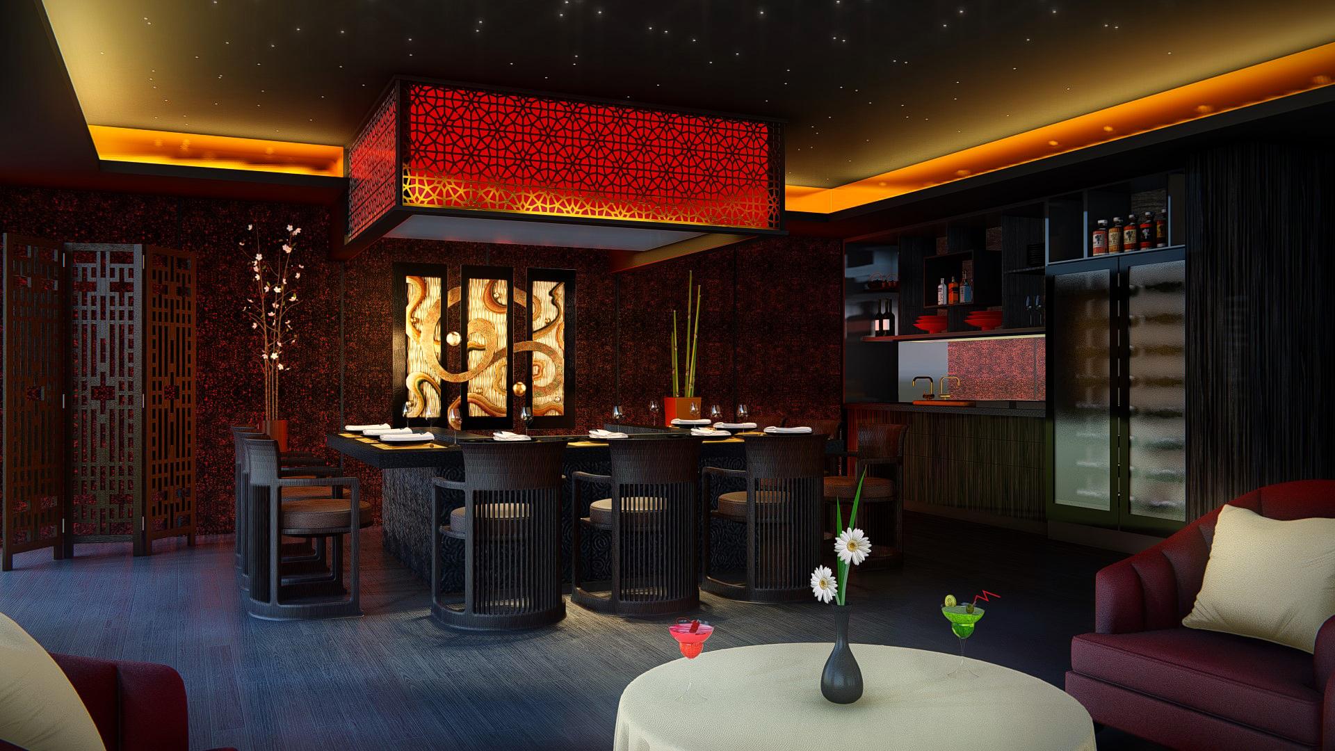 teppenyaki bar